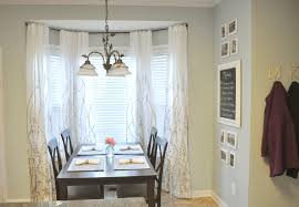 how to install bay window curtain rods effectively amazing home
