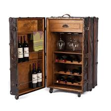 One Of A Kind Wine Storage Cabinet Made With A Vintage
