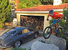 It's been a long time since Hans Rey started mountain biking. His garage in  Laguna Beach is a piece of history of our sport.
