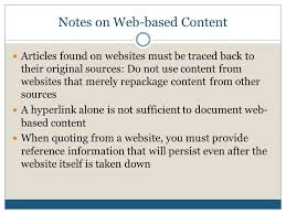 Citing Sources In Research Writing Ppt Video Online Download