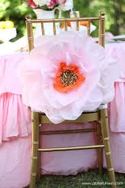 oversized tissue paper flowers