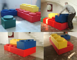 Lego style has apparently been appropriated by the sofa-making industry,  whose product called Bekky lets you construct your favorite configuration  out of ...