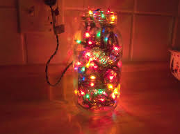 Decorated Jam Jars For Christmas Christmas Light Jar Ideas Christmas Decorating 84