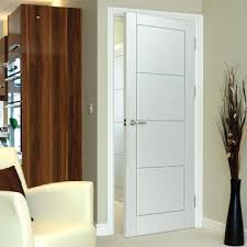 Fine Plain White Interior Doors Jbk Quattro Smooth Moulded Panel Door Primed On Simple Design