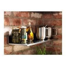 ikea stainless steel wall shelf 15