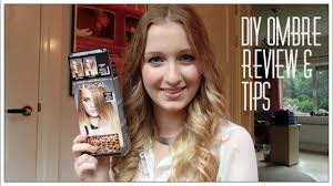 diy ombre hair l oreal review tips