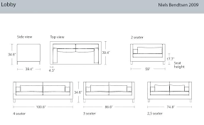 N Good Standard Sofa Size For Dimensions Of Couch Cool Intended Plan 15