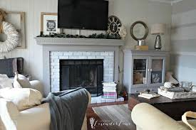 brick start with paint water use a fireplace update u the painting brass a whitewash brick