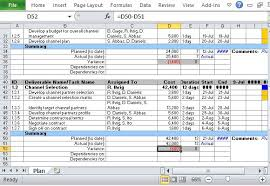 Channel Marketing Plan Maker Template For Excel