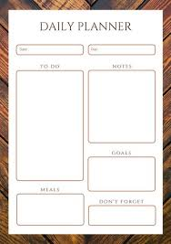 planner page template customize 610 planner templates online canva