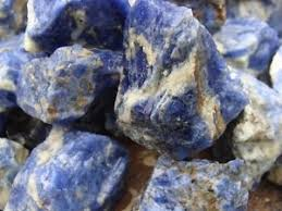 Image result for sodalite stone rough
