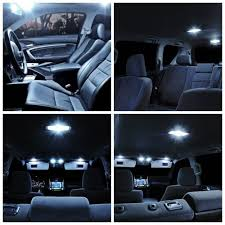 2013 Ford Fusion Interior Light Kit Us 10 23 36 Off 11pcs White Led Light Bulbs Interior Package Kit For Ford F250 2005 2015 F350 F450 F550 Map License Plate Light Ford B 05 In Signal