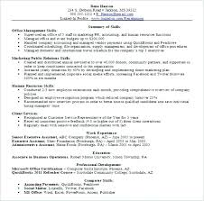 Job Skills For Resume Extraordinary Job Skills List Resume Of For A Sample Qualifications And With