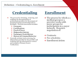 Credentialing The Complete Cycle Ppt Video Online Download