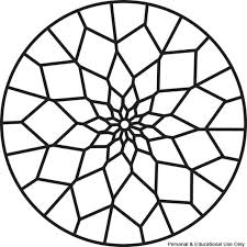 Coloring Mandalas For Kids Simple Mandala Coloring Pages Printable