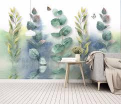 Goedkope Bacaz Custom 3d Muurschildering Behang Home Decor Groen