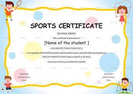 83 Best Certificates Images On Pinterest Sample Sports Certificates