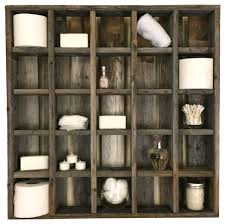 large 25 cubbyhole reclaimed wood wall cubby