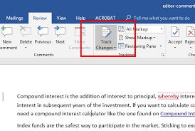 2016 Microsoft Word Remove Editor Comments   Papercheck