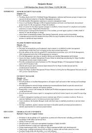 Incident Management Resume Example Incident Manager Resume Samples Velvet Jobs 7