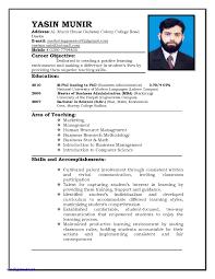 Teaching Resume Template Lovely Resume Templates For Teachers Resume Templates For Teachers 25