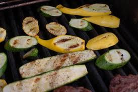 grilled squash is tender