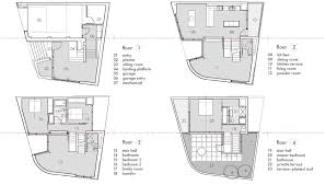 Floor Split Level Modern House Design Plan By Entry Plans Attached Garage Q:  Full ...