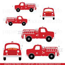 Fire Engine Design Studio Fire Truck Clip Art Fire Station Clip Art Vintage Fire