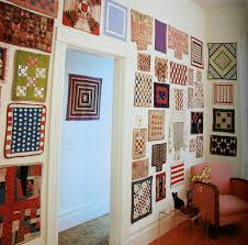 Wall of antique doll quilts, I never thought of making small ... & Wall of antique doll quilts, I never thought of making small quilts and  just putting Adamdwight.com