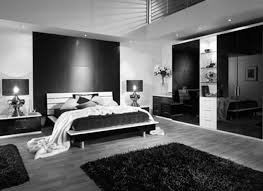 black and white bedroom decor. Bedroom Compact Black Furniture Ideas Painted Wood Large Cork Pillows Floor Lamps White 4d Concepts Industrial Canvas And Decor O