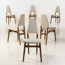 kurt Østervig 55 oak dining chairs for randers møbelfabrik 1950s