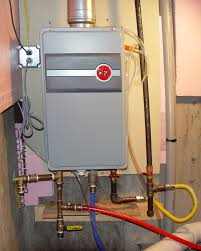 tankless water heater installation requirements. Exellent Tankless Installed Tankless Hot Water Heater Throughout Tankless Water Heater Installation Requirements A