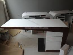 office table designs. Adorable Modern White Office Table Desk With Curved  Edge Buy Office Table Designs