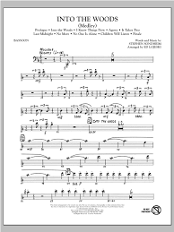bassoon sheet music into the woods medley bassoon sheet music direct