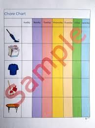 Waldorf Chore Chart Waldorf Chore Chart For Non Readers Waldorf Homeschooling