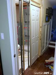 Attach the Split Jambs (Build the walls for the pocket)