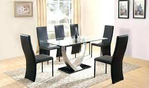 6 seat dining room table glass dining table and 6 chairs modern set glass round dining room tables that seat 6