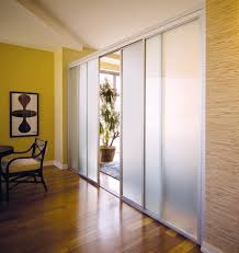 interior sliding glass doors room dividers. Interior Glass Doors · Custom Room Dividers Made With Frosted And Sliver Frame Finish. Open Up For An Sliding T