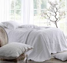 athens white bedspread