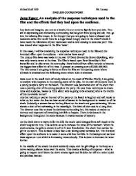 jaws essay gcse english marked by teachers com page 1 zoom in