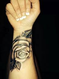 rose tattoo designs for wrist. Exellent Rose Rose Vine Wrist Band Tattoo For Girls Real Photo Pictures Images  Intended Designs Pinterest