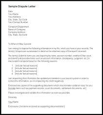 Online Letter Template Dispute My Credit Report Letter Template Best Of Form Online