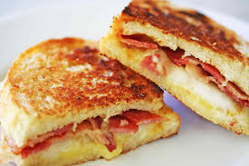 Grilled Cheese Sandwich With Bacon And Pear Recipe Simplyrecipescom