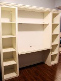 diy desk from ikea shelving units any shelving would work and just imagine