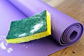 how to clean or wash your pvc yoga mat