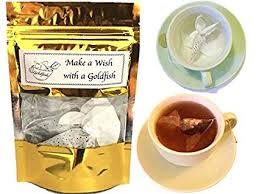 tea gift set 3 tea sles gift goldfish tea bags earl grey rose tea gift