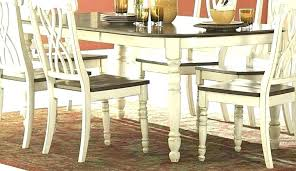 gray distressed dining table chairs black set white round furniture beautiful antique