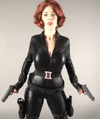 avengers black widow diy costume by mark montano on the stylish with kat quinn se 4