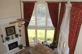 For Curtains For Living Room Comely Window Curtain Ideas Large Windows Decoration With Living
