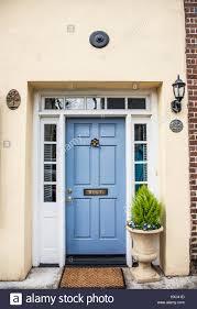 Light Blue Front Door Vintage Light Blue Colour House Front Door Door With A Door